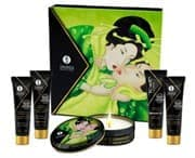 Подарочный набор Geisha's Secrets Organica Зеленый чай