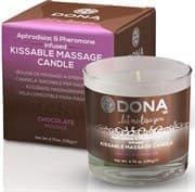 Массажная свеча Dona Chocolate Mousse - фото 10975