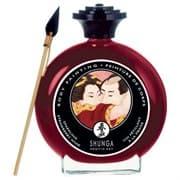Shunga, Крем-краска Для Тела с Ароматом Клубники и Шампанского - фото 17628