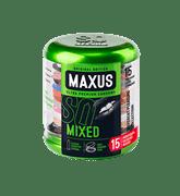 MAXUS Mixed, Презервативы - фото 17919