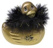 Вибратор-уточка I Rub My Duckie Paris Gold Travel Size - фото 7456